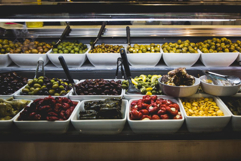 Merchandising olives in your retail store