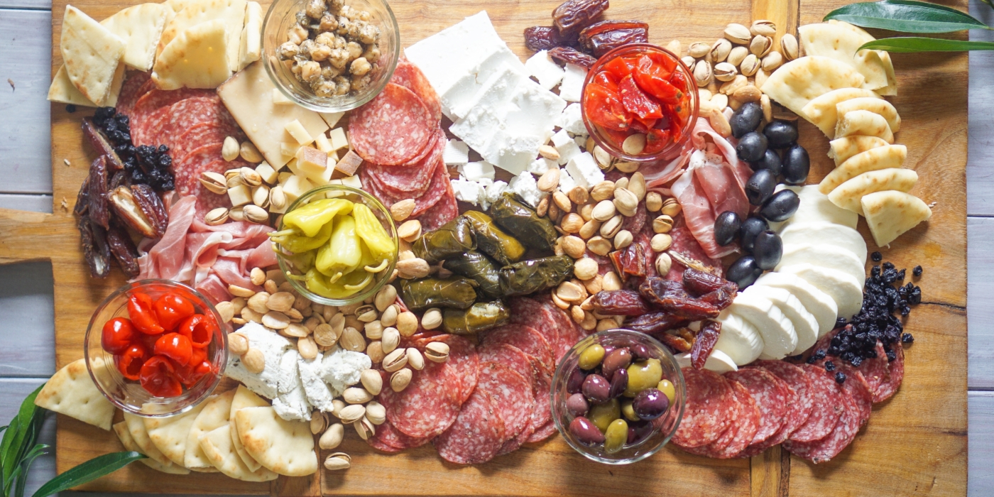 Cheese plates, Meat boards, Party Platters: Tips & Tricks