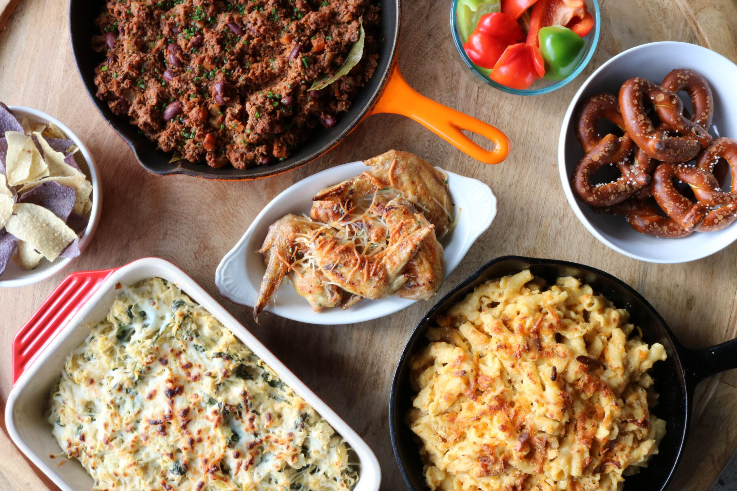 An Italian twist on Super Bowl Prepared Foods